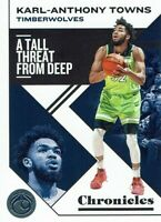 NBA Panini Trading Card Chronicles 2019/2020 Numéro 17 Karl-Anthony Towns