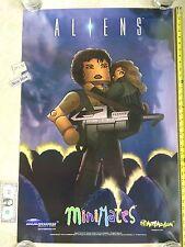 "MiniMates Aliens 24"" x 36"" Poster Diamond Select Toys C2E2 Nm"