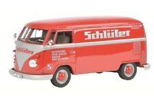 """Schuco VW / Volkswagen T1 """"Schlüter"""" Furgoneta rojo rojo 1:32 Art. 450892800"""