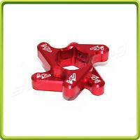 17mm Fork Spring Preload Adjuster For Ducati Monster 696 2008-2015 Red