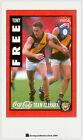 1995 AFL Coca Cola Classics Trading Card No13 Tony Free (Richmond)