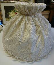 Vintage,retro,Victorian,traditional,French Downtown Abbey Lace Light / Lampshade
