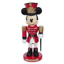 Kurt Adler Disney Mickey Mouse Soldier Nutcracker Christmas Figurine Retro Decor
