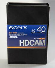 Sony BCT-40HD/2 HDCAM Videocassette, Small