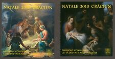Vatican City 2010 Booklets, Christmas (2 Booklets) , Sc #1460a+1461a MNH