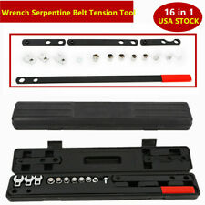 16pcs Wrench Serpentine Belt Tension Tool Kit Automotive Repair Service Kit SALE
