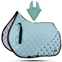 Details about  /General Saddle Pads//Camouflage Saddle Pad//Free Ears Gallop Arctic Camo