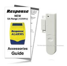 Response Alarms Door Window Detector 433MHz SA Range INCLUDING GUIDE /RRP £24.99