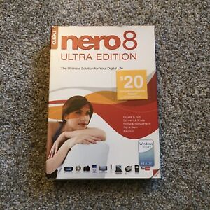 Nero 8 Ultra Edition The Ultimate Solution for Your Digital Life