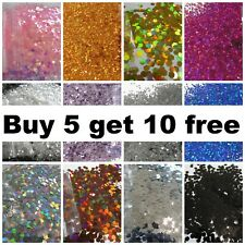 Chunky Glitter Festival Cosmetic Nail 1mm metallic holographic BUY 5 GET 10 FREE