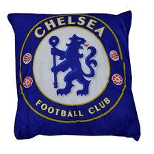 Chelsea FC Stemma Quadrato Cuscino Cuscino Camera Da Letto Seduta Sofa Sedia NUOVO REGALO NATALE