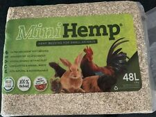 NEW!! Mini Hemp pet bedding 48lt pack