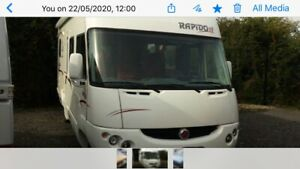 2006 FIAT RAPIDO MOTORHOME CAMPER FOR PARTS PLEASE ENQUIRE FOR PART NEEDED