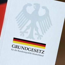 Grundgesetz Buch Deutschland - Aktuellste Version - NEU -- Gültig Für 2020