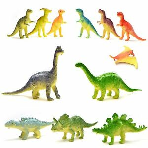 12 x Dinosaur Mini Figures Party Bag Fillers Pinata Favour Gift Educations Toys