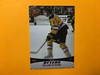 DYLAN STROME ROOKIE ERIE OTTERS OHL 2014 CHOICE CARD #21 CHICAGO BLACKHAWKS