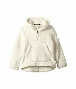 New The North Face Kids Girls Campshire Sherpa Fleece Jacket Hoody Coat
