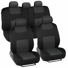 Car Seat Covers for Auto Suv Truck 9pcs Front & Rear 5 Colors - Economy Standard