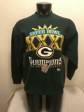 Vtg Green Bay Packers 1997 Super Bowl Champions Sweatshirt Mens size Large