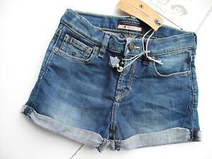 SCOTCH R'BELLE - Jeansshorts washed blue neu  Gr 4 6 8 (104, 116 u 128)  SALE %%