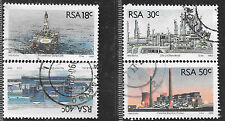 SOUTH AFRICA 1989 SOUTH AFRICA ENERGY SOURCES COMPLETE POSTALLY USED SET 1401