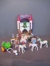 Chateau Princesse/Reine/Roi Playmobil 4777 - 4 PERSONNAGES 3 Licornes (A)