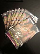 (10) Pack Lot Of 2018 Topps WWE WOMENS DIVISION Wrestling Factory Sealed Packs!