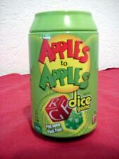 APPLES TO APPLES Dice Game in a Can