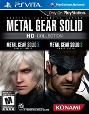 PLAYSTATION VITA PSV GAME METAL GEAR SOLID HD COLLECTION BRAND NEW & SEALED