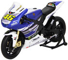 VALETINO ROSSI FACTORY YAMAHA YZR-M1 MOTO GP Die-Cast Toy Model Bike NEWRAY 1:12