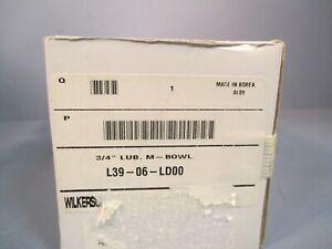 WILKERSON AIR LUBRICATOR METAL BOWL 3/4 IN FNPT, 250 PSI L39-06-LD00