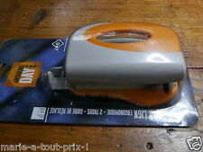 Perforateur 2 trous 10 feuilles avec roller guide JPC métal perforatrice copies