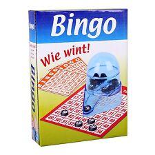 BINGO Reisespiel Lotto Spiel-Set Bingomühle und Zubehör Bingospiel Bingomühle
