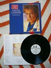 David Cassidy Romance Vinyl 1985 Arista 1st Press A1/B1 LP The Last Kiss EXC+