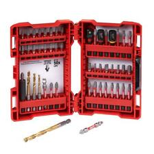 MILWAUKEE Impact Duty Driver Steel Bit Set (50-Piece) Power Tool Accessories