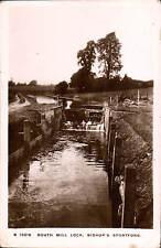 Bishop's Stortford. South Mill Lock # S 10216 by WHS Kingsway.