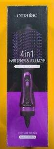 4 In 1 Hot Air Hair Dryer Brush Volumizer Negative Ion Comb Blow Dryer