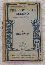 THE COMPLETE SECOND BOXING SPORT BOOK BY BILL NATTY SCARCE BOXING BOOK