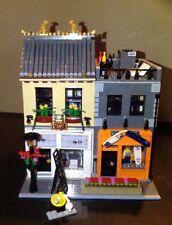 Lego Custom Modular Building Chinese Restaurant & Surfshop Skateshop 2600 Parts