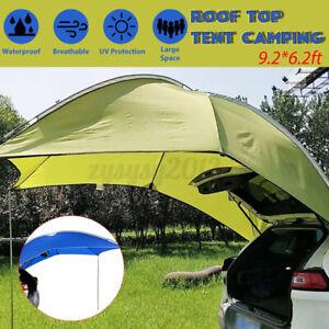 3-4 Man Car Sun Shade Roof Tent Awning Waterproof Outdoor Camping Portable