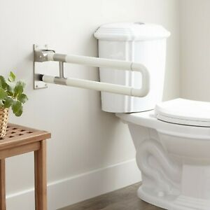 Signature Hardware Marion Flip Up Grab Bar with Stainless Accent YJL-8805-3