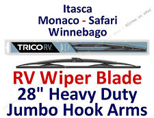 "Wiper Blade Itasca Monaco Safari Winnebago RV Motorhome Wiper Hook 28"" 67284"