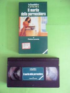 IL MARITO DELLA PARRUCCHIERA CON ANNA GALIENA JEAN ROCHEFORT.REPUBBLICA VHS