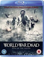 World War Dead Zombie Horror Blu-Ray New & Sealed FREE SHIPPING