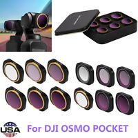 For DJI OSMO POCKET MCUV CPL ND4//ND8/ND16/ND32/ND64 ND-PL Camera Lens Filters
