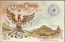 Regia Fabbrica d'Armi di Brescia - Cartolina Militare - Non viaggiata primi '900