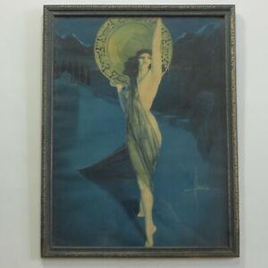 The Enchantress Rolf Armstrong Vtg Framed Print