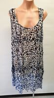 💜 AUTOGRAPH Sleeveless Tunic Blouse Top Multicolor Size 18 Buy7=FreePost L773