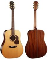 Cort Gold Series Dreadnought, GOLDD6, Solid Spruce Top, Back & Side