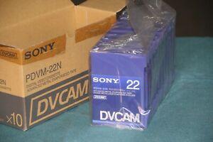 Sony DVCAM PDV-22N Video Cassette Tape - Brand New